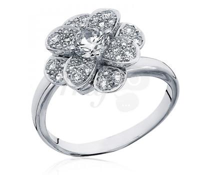 3.- Anillo Emma con diamantes en flor de Alphonse & Thibault