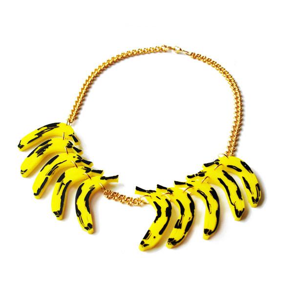 Collar Banana Necklace de Patricia Nicolás