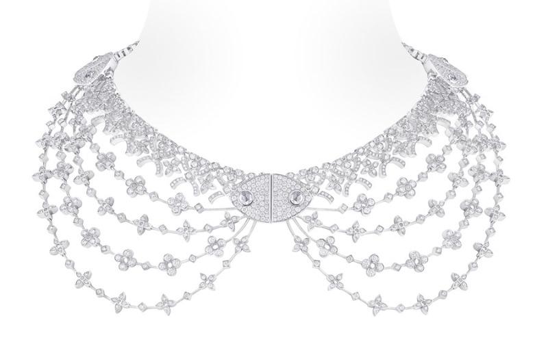 Collar Dentelle Louis Vuitton Voyage dans le Temps