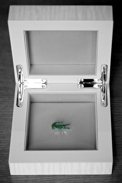 Broches Diamantes Boucheron Lacoste 80 aniversario