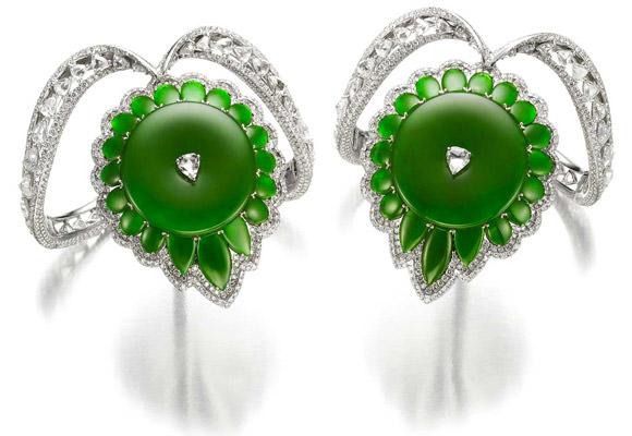 Brazaletes Bogh Art en jade