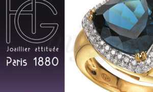 Las Sortijas Azul Abisal de la firma H.Gringoire
