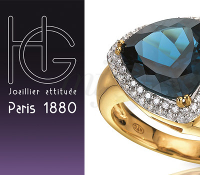 Sortija Azul Abisal de H.Gringoire