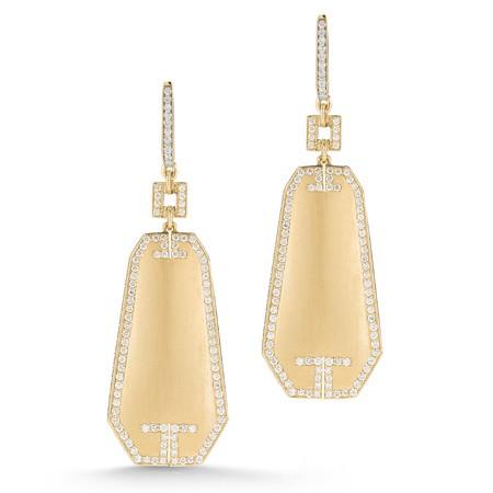 Pendientes Octogonales Metropolis de Ivanka Trump Jewelry
