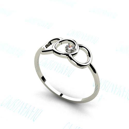 15f603d371cd anillos de compromiso baratos Anillo Ateneo Diamantísimo en plata