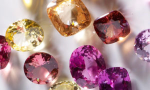 El diamante piedra natal del mes de Abril