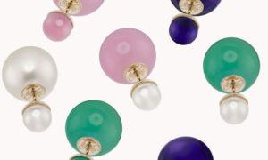 El pendiente rebelde Mise en Dior