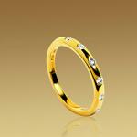 Alianza Fedi Bulgari en oro y diamantes