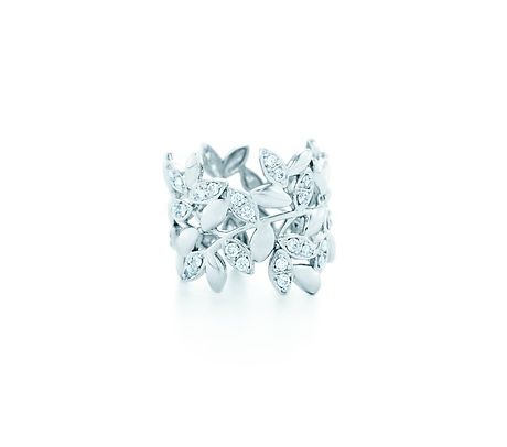 Anillo Olive Leaf de Paloma Picasso para Tiffany & Co.
