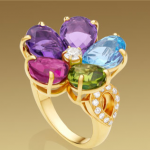 Anillo Shappire Flower de Bulgari
