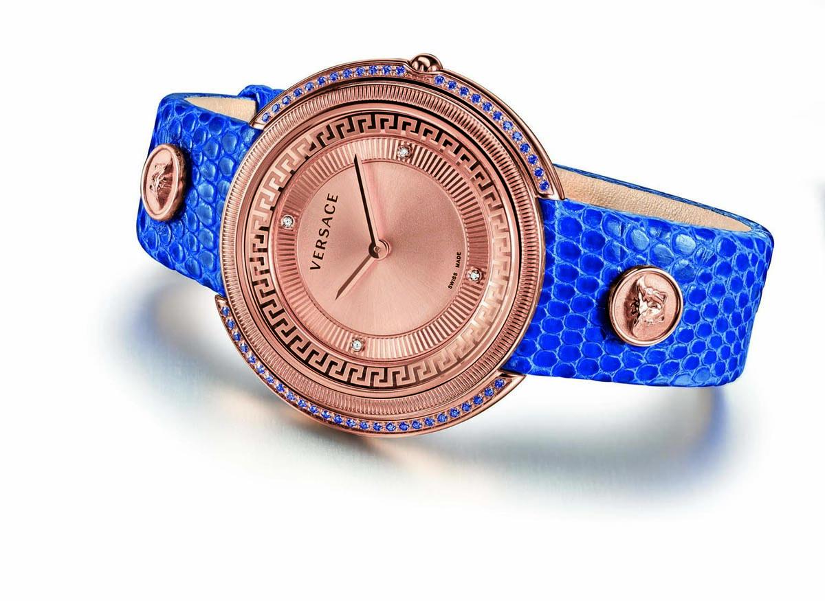 Reloj Thea azul de Versace