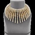 El collar Mise en Dior: un torrente de perlas