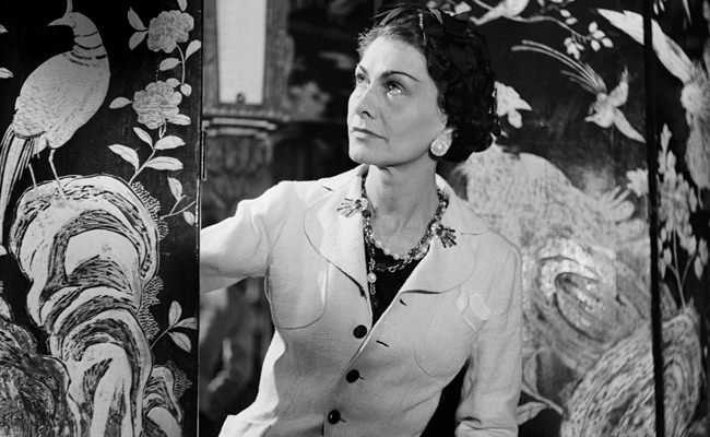 Mademoiselle Chanel y las Camelias