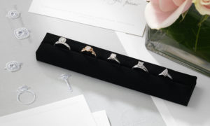 """For You Forever"" anillos de compromiso De Beers muy exclusivos"