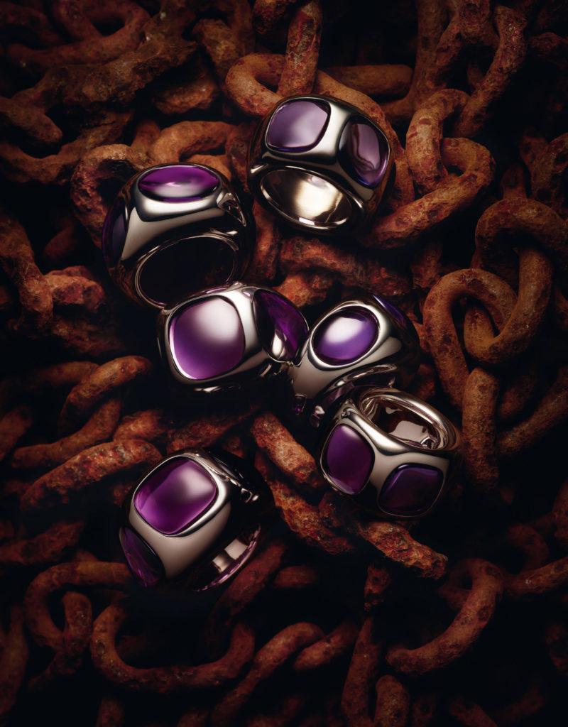 Pomellato 67 - Bisanzion rings by Guido Mocafico