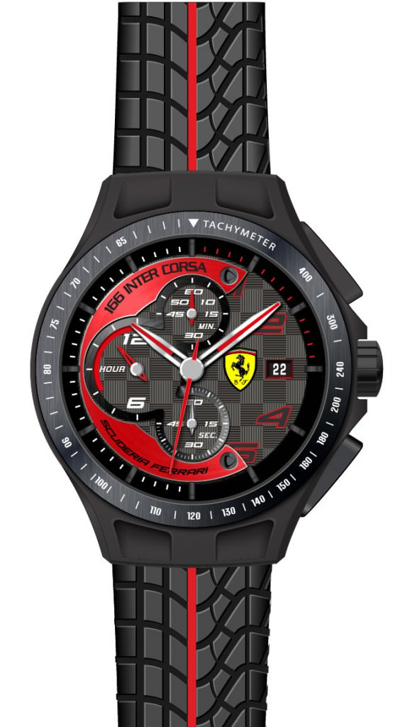 Reloj Race Day de Scuderia Ferrari