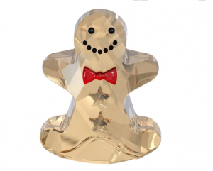 Ginger Bread Man Swarovski Navidad 2013