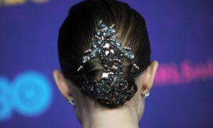 Los peinados-joya de moda esta temporada
