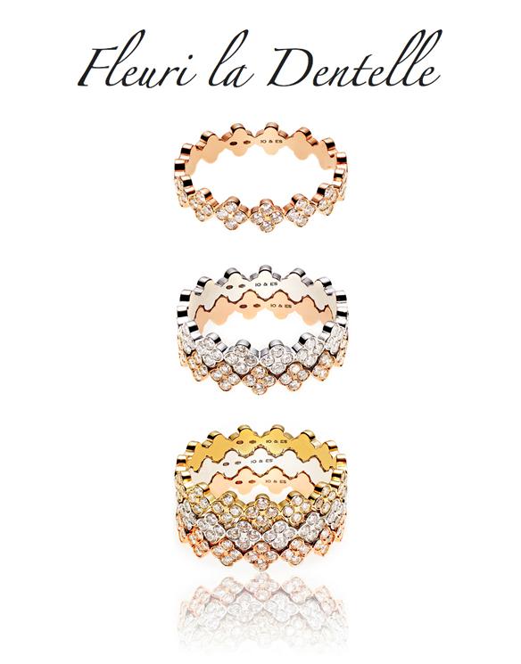c47b0ae4f3d5a Siguiendo la fuerte tendencia de incorporar las texturas y tejidos de alta  costura al mundo de las joyas