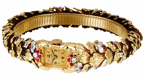 Reloj Van Cleef Arpels Feuilles de Chene 1951