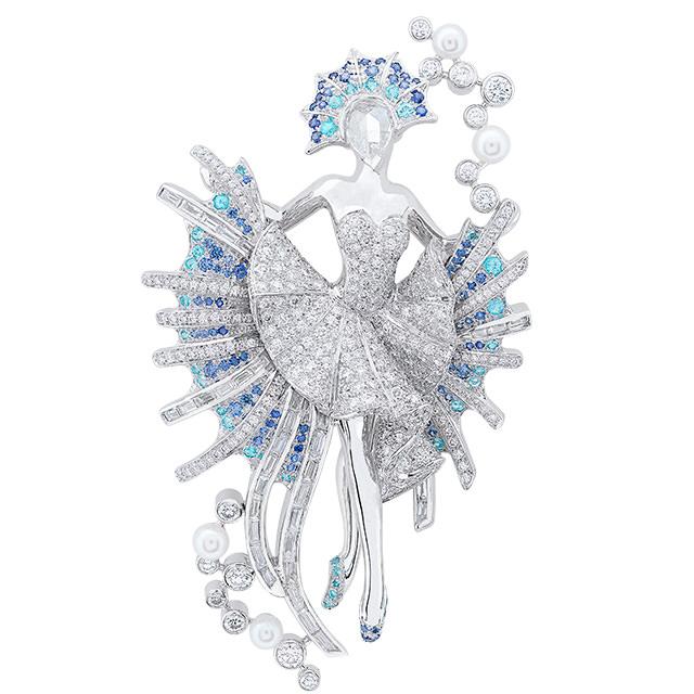 Broche-Bailarina-Van-Cleef-and-Arpels-Ballet-Precieux-Le-Poisson-dore-Clip