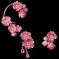 """""""Les Fleurs du Cerisier"""" de Morphée Joaillerie"""