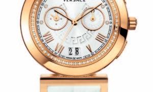 Nuevo Versace Vanity Crono, lleno de diamantes