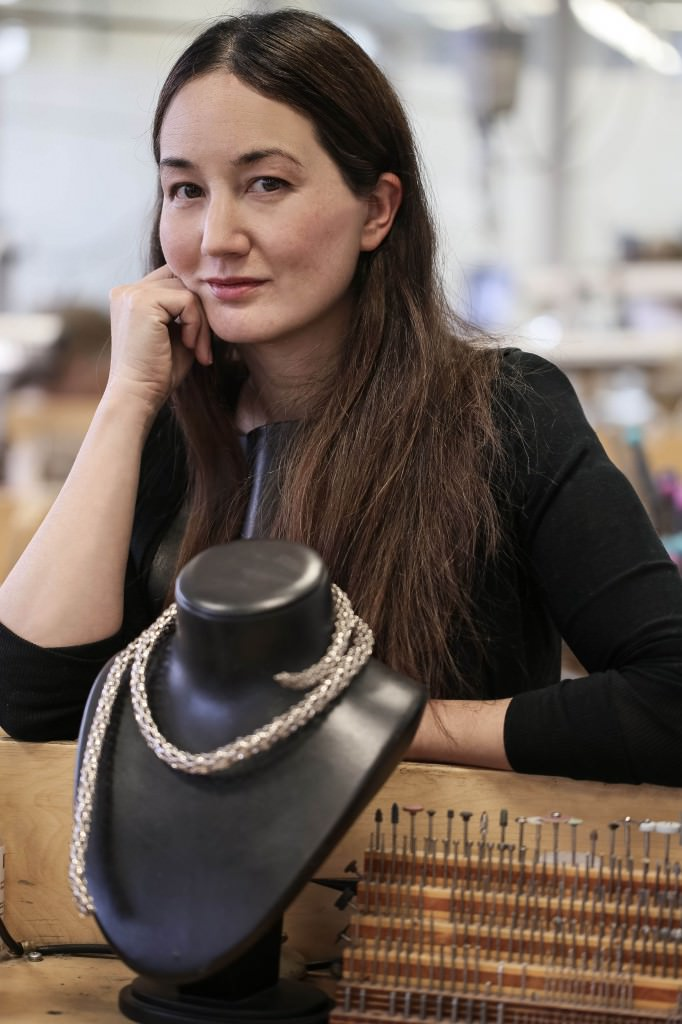 Harumi Klossowska de Rola in the High Jewellery workshop 2