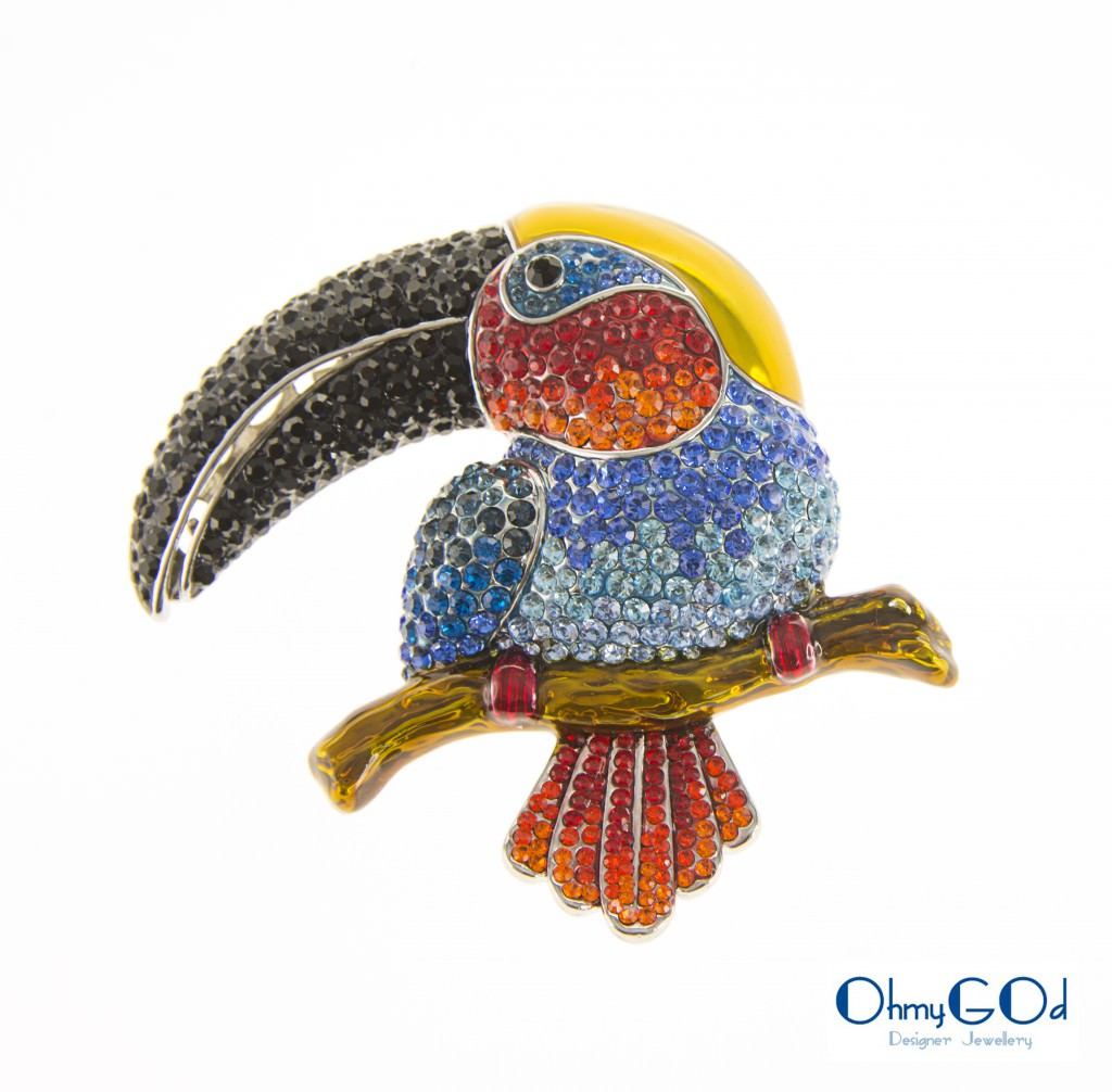 Broche Papagayo OhmyGod - precio 188,43€ I.V.A. no incluído