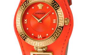 Versace V Signature en naranja ácido ¿te atreves?