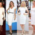 Blanco y oro vintage para el verano