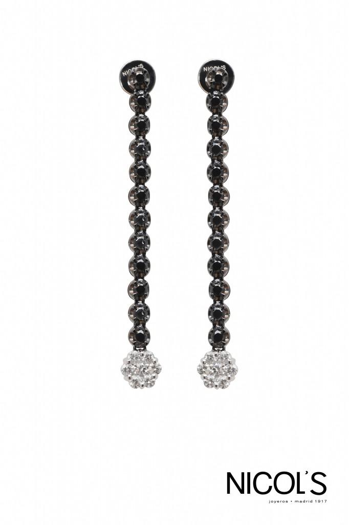 Pendientes Black Diamonds de Nicol's