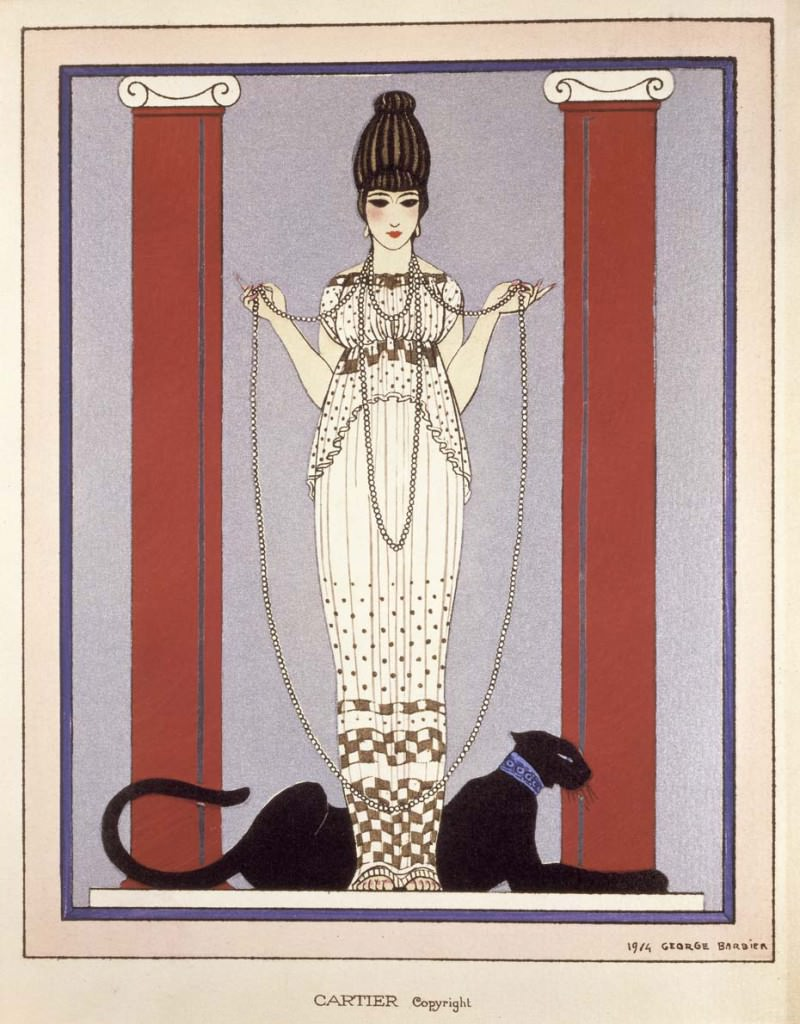 CartierPanthere-dibujo-georges-barbier