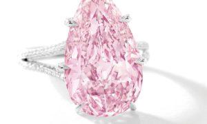 Sotheby´s Hong Kong vende un diamante rosa a precio récord