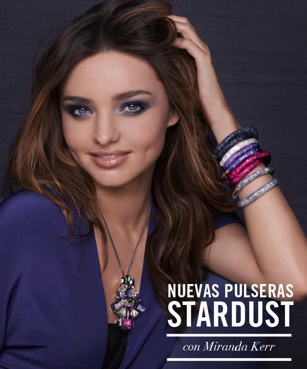 281c0a87cc9 Las nuevas pulseras Stardust Swarovski  color y brillo - Corazón de ...