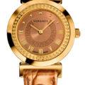 El reloj Versace Vanity en su versión oro rosa