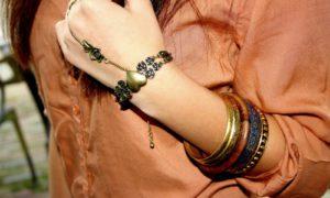 ¿Ya has probado a lucir un anillo-pulsera?