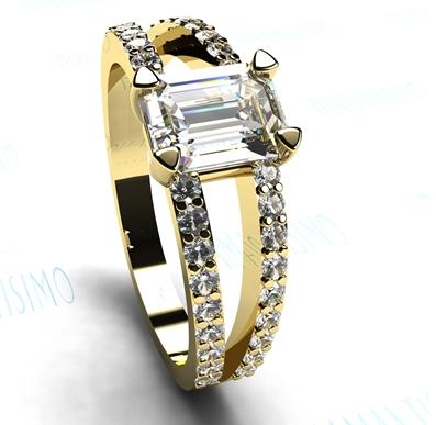 anillo-Solitario-Diamantisimo-Queen Margot oro amarillo