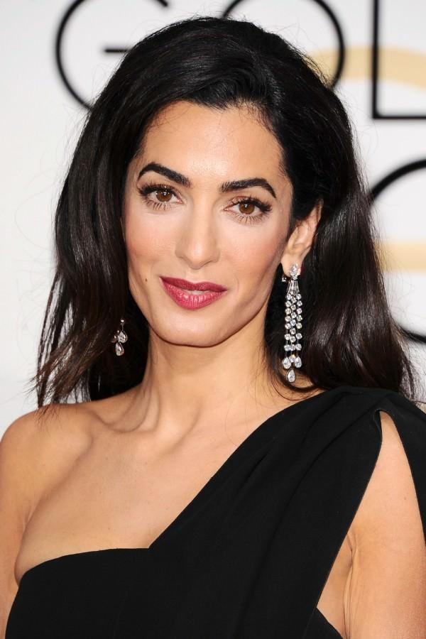 Amal Clooney con joyas de Harry Winston