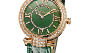 El reloj Imperiale de Chopard en lujoso Jade