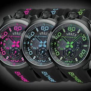 Bomberg Neon Relojes 2015 Basilea
