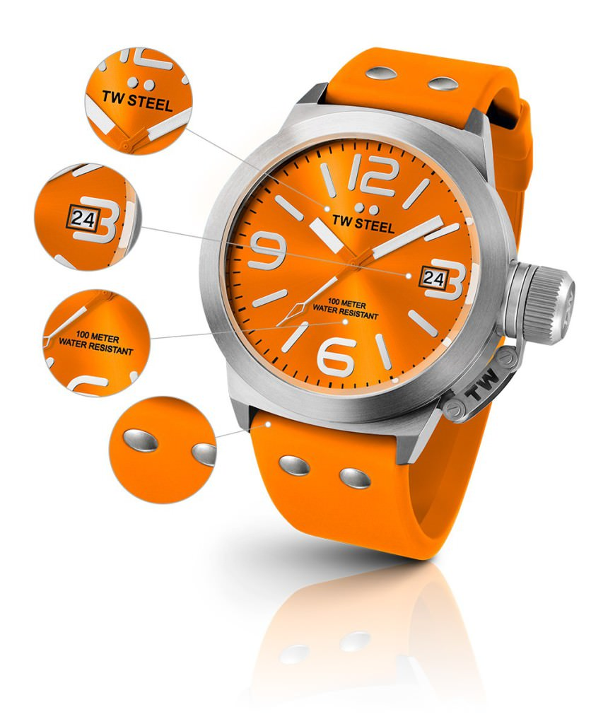 TW Steel Canteen Fashion Full Orange