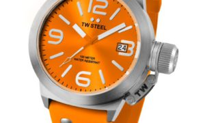 El reloj TW Steel Canteen Fashion Full Orange,  es primavera.