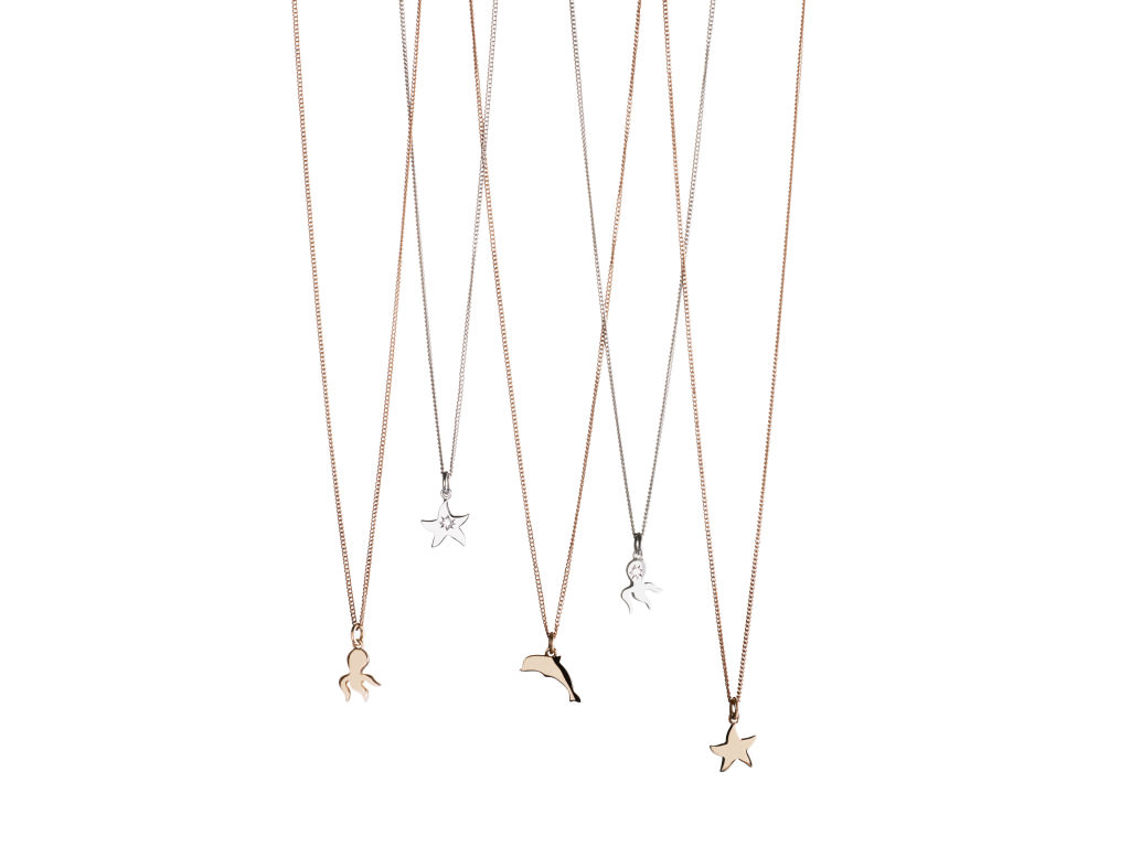 Dodo little chain in rose gold with micro