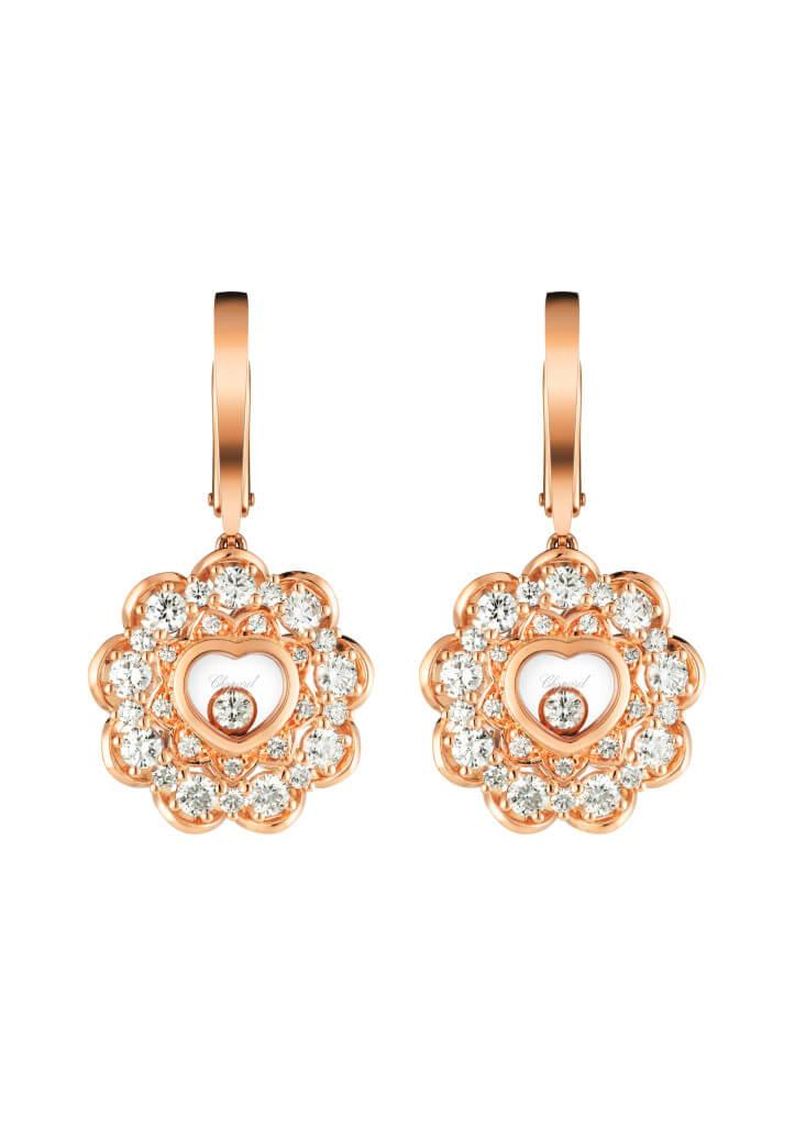 Joyas Chopard para regalar en Navidad-Pendientes-Happy-Diamonds-earrings-Chopard