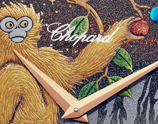 "El reloj Chopard LUC XP Urushi ""Year of the Monkey"""
