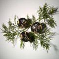 Joyas Pomellato Arabesque Noir en titanio