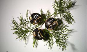 Joyas Pomellato Arabesque Noir, en titanio y muy seductoras