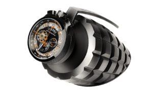 El reloj Grenade de Bomberg, para tu escritorio