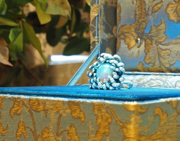 Las joyas Fleurs d'Opale de Chopard Alta Joyería